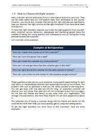 advanced customer care training course materials skills converged workbook 1
