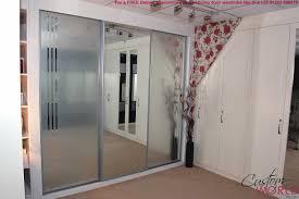 door mirrored sliding door wardrobe charming mirror sliding closet doors toronto