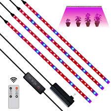 LED Grow <b>Light Strips</b>,24W 120 LEDs <b>Plant Growing Light</b>,LED ...