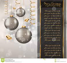 elegant classic christmas greetings royalty stock images elegant classic christmas greetings