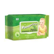 <b>Влажные салфетки</b> детские <b>Pamperino 80</b> штук в упаковке ...