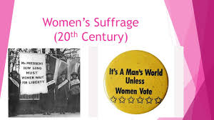 women s suffrage th century just the facts iuml micro suffragists 1 women s suffrage 20 th century