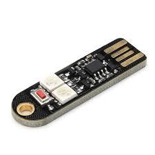 3Pcs <b>SANWU</b>® <b>Mini Usb Colorful</b> LED Night Light Board For Power ...