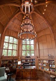 octagon library traditional home office atherton library traditional home office
