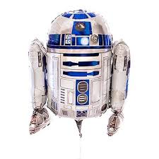 <b>R2D2 Star Wars Helium Balloon</b>