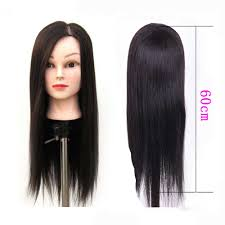 professional 60cm 24inch hairdressing dolls head female mannequin styling on sale