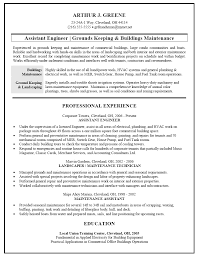 resume objective for groundskeeper sample document resume resume objective for groundskeeper groundskeeper resume sample one service resume resume sample for facilities and building