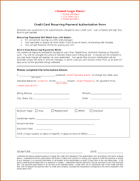 11+ recurring credit card authorization form | Lease Template ... Credit Card Recurring Payment Authorization Form by wulinqing ...