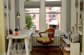 wall alcove decorating ideas home office eclectic with white wood wood trim office chairs alcove office