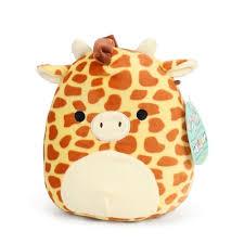 Мягкая <b>игрушка</b> сквиш <b>антистресс Squishmallows</b> Жираф Гарри ...