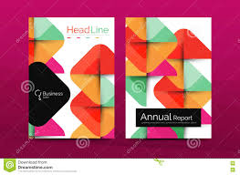 business annual report cover design template stock vector image business annual report cover design template