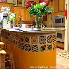 kitchen stencil ideas