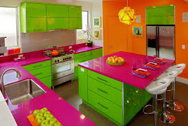 Lemon And Lime Kitchen Decor Cooking In Color Crayola Bright Kitchens Buck White Standard