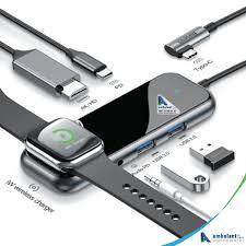 <b>Baseus</b> USB <b>Type C HUB</b> to HDMI RJ45 Multi <b>USB 3.0</b> - Ambulant ...