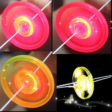 Colorful ALSastic Spin <b>LED Light Flying</b> Saucer Kids Outdoor Toys ...