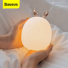 <b>Baseus</b> USB Gadgets Night Lights Touch Sensor LED Night <b>Lamp</b> ...