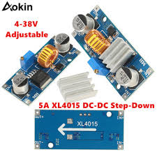 <b>XL4015 5A DC</b>-DC Step Down Adjustable Power Supply Module ...