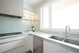 contemporary glass tile kitchen backsplash glass tile backsplash pictures kitchen modern with cooktop glass tile