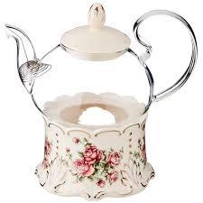 """Заварочный <b>чайник</b> 600 мл на подставке """"<b>Корейская Роза</b> ..."""