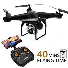 Amazon.com: <b>JJRC H68 RC Drone</b> 40MINS Longer Flight Time ...