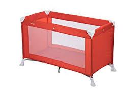 <b>Safety 1st</b> 2114260000 <b>Soft Dreams</b> Travel Umbrella Bed Red Lines ...