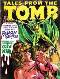 GCD :: Cover :: Tales from the <b>Tomb</b> #v4#5 | Horror comics, Graphic ...