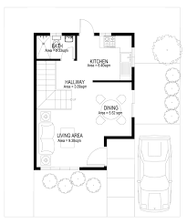 Two Story House Plans Series  PHP    Pinoy House PlansGROUND FLOOR PLAN