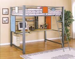 cool kids loft bed design amazing loft bed desk