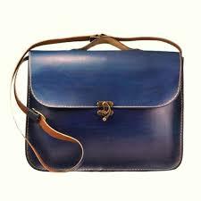 Handmade Laptop Bag ,Blue Leather ,Briefcase ,<b>Messenger</b> Bag ...