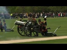 Britain Brings Out the Big Guns for Queen's 91st Birthday (Video ...