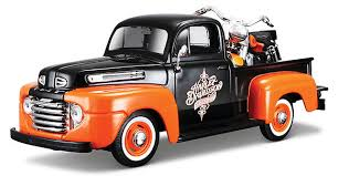 <b>Maisto Diecast</b> Harley Davidson 1948 Ford F1 <b>Pickup Truck</b>