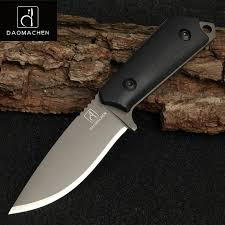 DAOMACHEN High Carbon Steel <b>Outdoor Tactical Knife</b> Survival ...