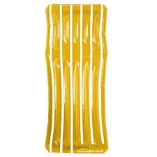 "72"" <b>Inflatable</b> Yellow and White Transparent Cool <b>Stripe Swimming</b> ..."