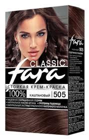 Купить Fara <b>Classic</b> Стойкая <b>крем</b>-<b>краска для волос</b>, 505 ...