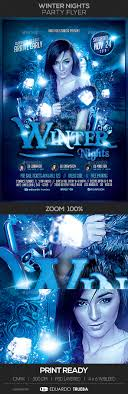 winter nights party flyer by eduardotrueba graphicriver winter nights party flyer events flyers