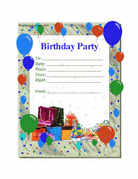 birthday party invitation template hollowwoodmusic com birthday party invitation template enchanting combination of various color on your birthday 7