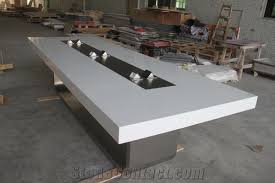 acrylic solid surface conference tablesquare marble meeting desk manmade stone office desk acrylic office desk