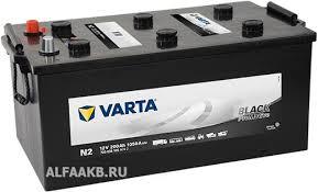 Аккумулятор <b>Varta</b> N2 PROmotive Black, аккумуляторы <b>грузовые</b> ...