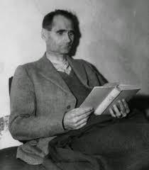 abwehr 1109 ier executioner pro lifer rudolf hess reading the book jugend by ernst claes in landsberg prison