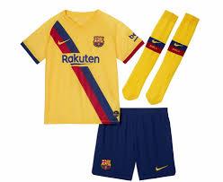 Форма футбольная Nike 2019/20 FC Barcelona Little Kids <b>Breathe</b> ...