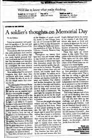 soldiersjpg middletown republican press releases may  essay on memorial day