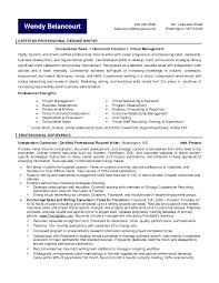 certified resume writer  resume example