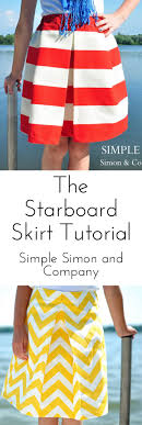 The Starboard Skirt--an easy pleated skirt tutorial | <b>Stitching bitches</b> ...