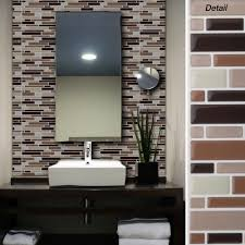 stick wall tiles quotxquot: peel and stick wall tiles bathroom creative image of details bathroom cabinets bathroom exhaust