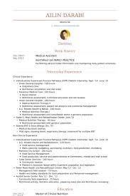 medical assistant resume samples   visualcv resume samples databasemedical assistant resume samples