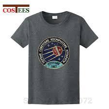 <b>2018 New Vintage</b> Russia CCCP Yuri Gagarin T-Shirt <b>men</b> Group ...