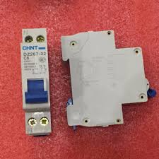 Free Shipping New <b>CHINT Miniature circuit breaker</b> DZ267-32 1P+N ...