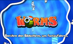 Android hra Worms