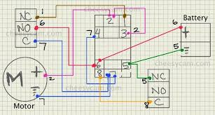 diy auto reverse polarity motorized video slider color coded wiring diagram click for larger view
