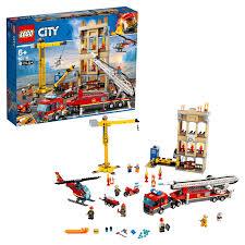 <b>Конструктор LEGO City Fire</b> 60216 Центральная пожарная станция